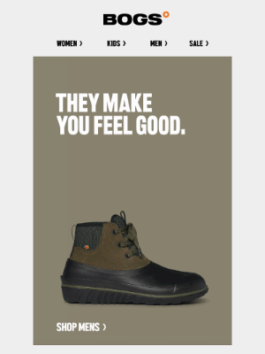 BOGS - These Make You Feel Good   Shop Our New Classic Casual