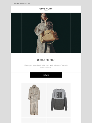 Givenchy - Winter Refresh: women's new in