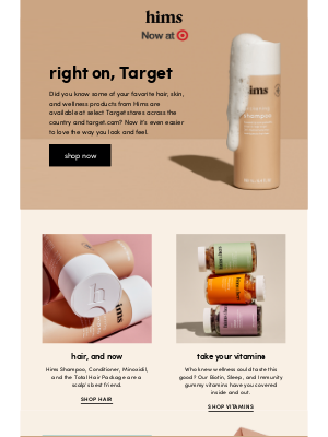 hims - Hims @ Target FTW 🏆