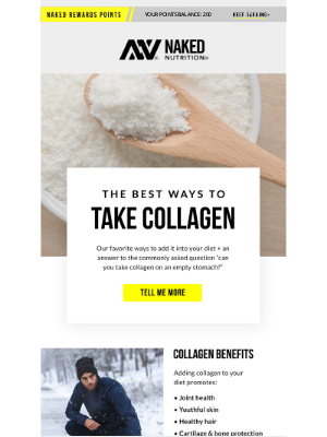 Naked Nutrition - We'll Show You the Best Ways to Take Collagen