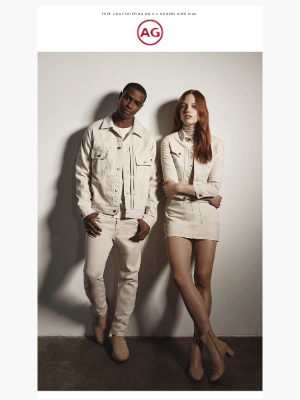 AG Jeans - Cue a new wintry hue