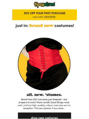 Tipsy Elves - JUST IN: brand. new. costumes 🤩