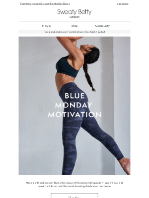 Sweaty Betty (UK) - Mood-boosting activewear, workouts and more...💙