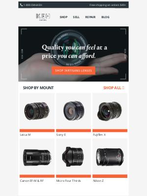 Keh - Allow us to introduce you to 7Artisans lenses