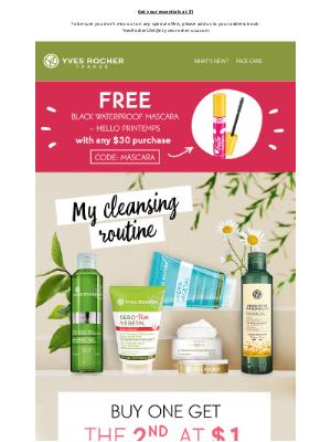 Subscribers exclusive : your FREE Mascara Hello Printemps!