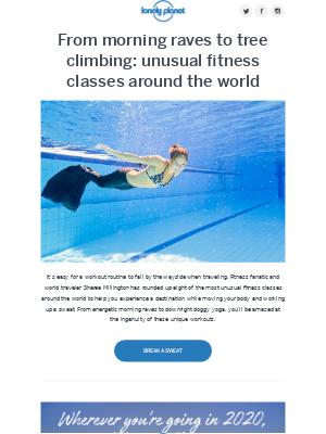 8 unusual fitness classes around the world