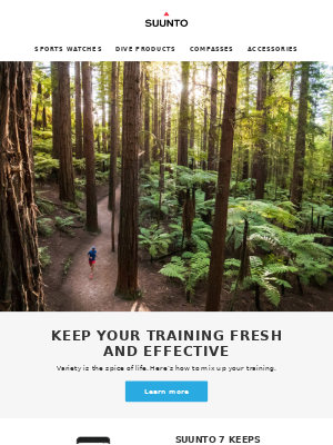 Keep your training fresh and effective