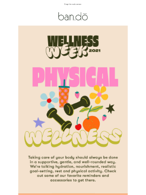 ban.do - Today? Physical wellness.