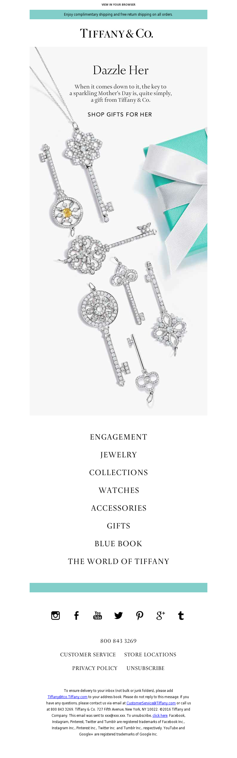 Tiffany & Co. - The Key to Her Heart | A Tiffany Mother's Day