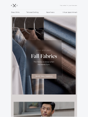 Proper Cloth - Style Spotlight: Fall Fabrics