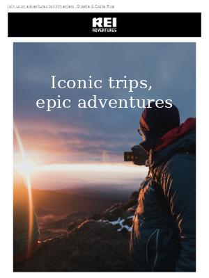 Active Adventures for Classic Destinations