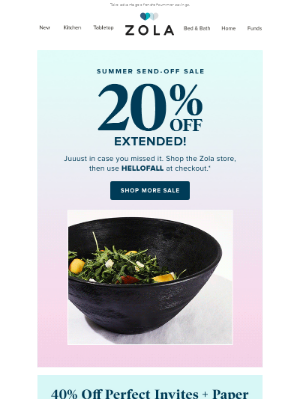 20% off is EXTENDED on Nutribullet and more: You're seriously gonna ❤️us