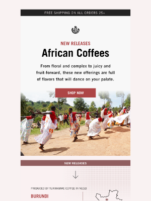 Temple Coffee Roasters - NEW African Coffees!