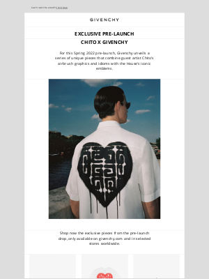Givenchy - Spring 2022 Pre-Launch: Chito x Givenchy
