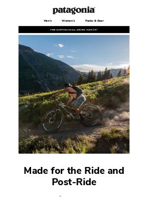 Capilene Cool Trail Bike Henley