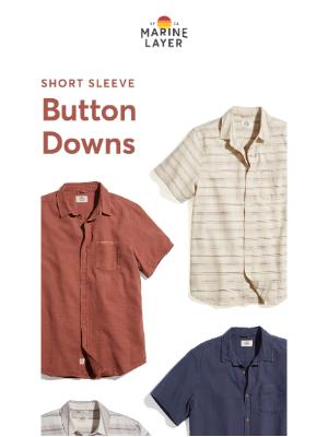 Marine Layer - *Slightly* dressy button downs.