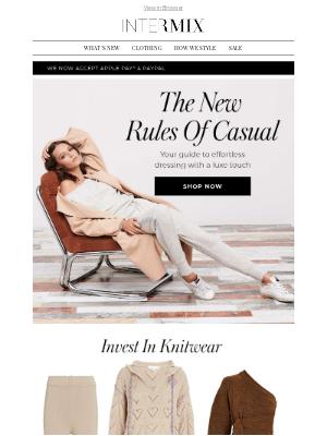 INTERMIX Designer Clothing - Luxe Casual