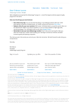 American Airlines - Welcome to the AAdvantage Program