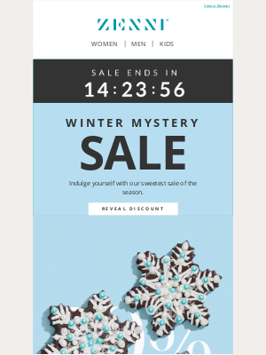 Zenni Optical - Don't Miss Out on Our Winter Mystery Sale!