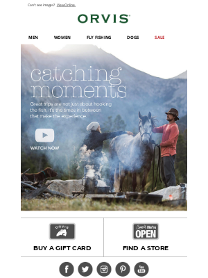 Orvis - See why a fishing trip is about more than just fishing.