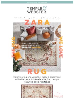 Temple & Webster (AU) - Rugs we love ❤️