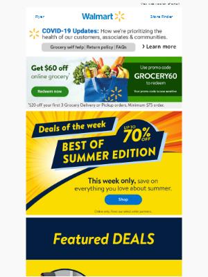 Love summer? Love savings? Open this.