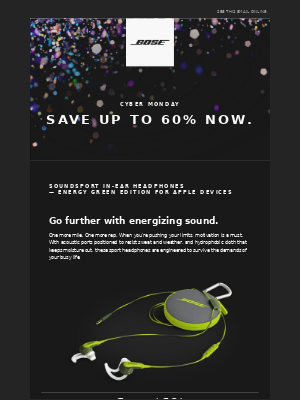Save up to 60% for Cyber Monday   Limited-time offer