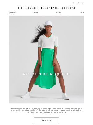 French Connection (UK) - Your new uniform: Sporty chic