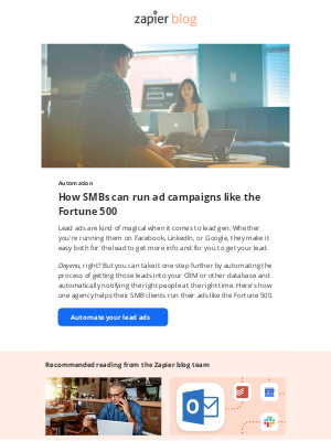 Zapier - Run your ad campaigns like the Fortune 500