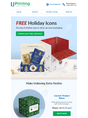UPrinting - Make Unwrapping Extra Special