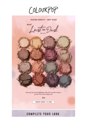 ColourPop Cosmetics - we're chasing sunsets 🌅