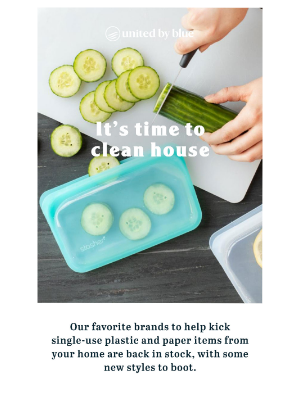 United By Blue - New waste-free home essentials