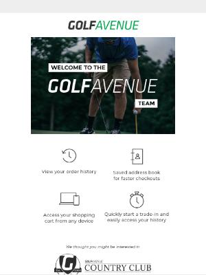 Golf Avenue (CA) - Welcome clarence kurtzman!