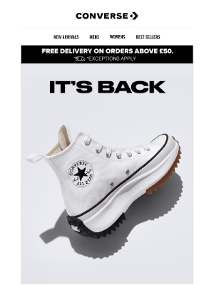 Converse - The Run Star Hike is back!