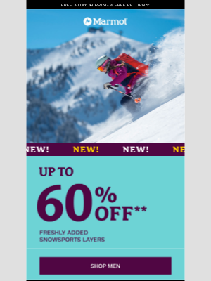 Marmot - ❄️ NOW up to 60% Off: SNOWSPORTS ❄️