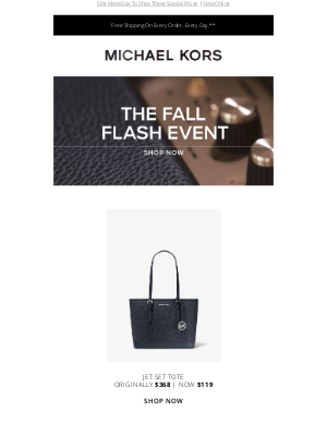 Michael Kors - Extended! The Fall Flash Event