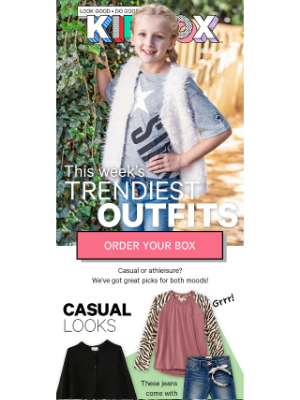 KIDBOX - 💖 TOP WINTER OUTFITS - $69 First Box 💖