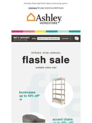 Ashley Furniture HomeStore - Great Days Ahead! 🥳 Special Savings For You