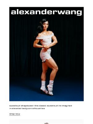 Alexander Wang - sweatsuit shapewear