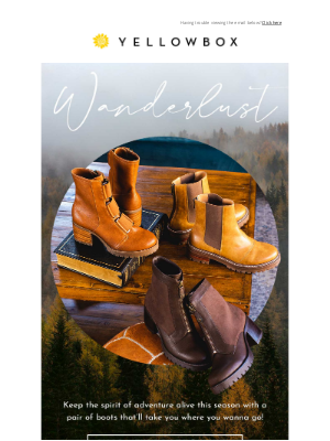 Yellow Box Shoes - Get $20-$50-$80 Off Your Holiday Prep!