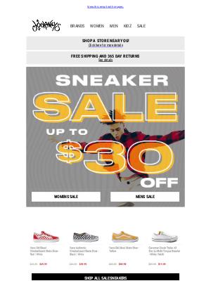 Journeys - ATTN: Sneaker Sale happening NOW 💥