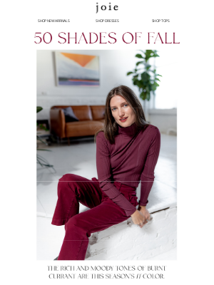 Joie - New: The Color of Fall