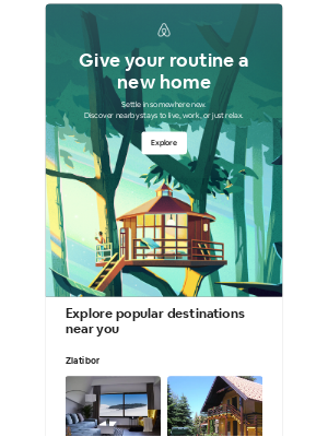 Airbnb - Michael, turn the everyday into a getaway