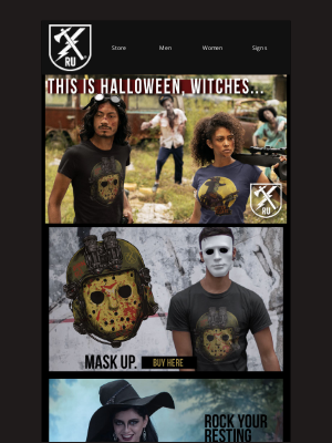 Ranger Up Military and MMA Apparel - 🎃This Is Halloween, Witches...🎃