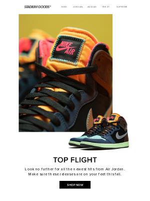 Stadium Goods - Need the latest Jordans?