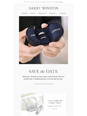Harry Winston - Save the Date