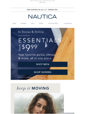 Nautica - Shop The Essentials from $9.99