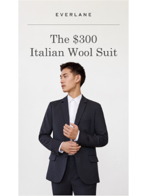 Introducing: Our First Suit
