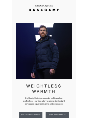 Canada Goose (CA) - Warmth without boundaries
