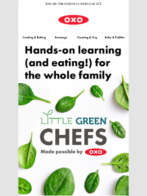 OXO - Calling all chefs: kid-friendly recipes (and activities) right this way